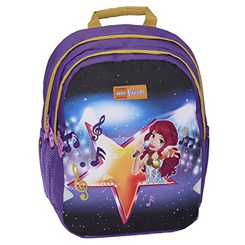 Lego Friends Popstar Ergo Kinder-Rucksack, Purple