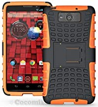 Cocomii Hand Grenade Motorola Droid Maxx/Droid Ultra Case, Slim Thin Matte Vertical & Horizontal Kickstand Reinforced Drop Protection Fashion Bumper Cover for Motorola Droid Maxx/Droid Ultra (Orange)