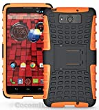 Cocomii Hand Grenade Motorola Droid Maxx/Droid Ultra Case, Slim Thin Matte Vertical & Horizontal Kickstand Drop Protection Bumper Cover Compatible with Motorola Droid Maxx/Droid Ultra (Orange)