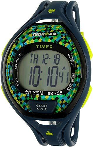Timex Ironman TW5M07800 - Orologio sportivo analogico al quarzo in gomma blu