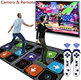 JYDNBGLS Alfombrillas de danza dobles, juego de danza, juegos de danza estilo arcada somatosensorial Gamepad TV, videojuegos, yoga para fiestas de fitness, hogar