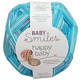 MEZ Schachenmayr Baby Smiles happy baby color 84, 200g Babywolle 1 Ball = 1 Decke, mit Anleitung (deutsch) in der Bandarole