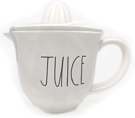 Rae Dunn by Magenta Juice Large Letter LL Ceramic Juicer