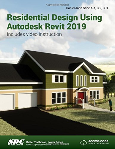 Price comparison product image Residential Design Using Autodesk Revit 2019