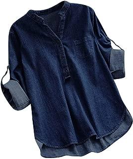 Best womens denim pullover shirt Reviews