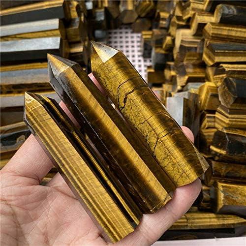 2.2lb Natural New item Tiger's Limited Special Price Eye Obelisk Crystal Point Reik Quartz Wand