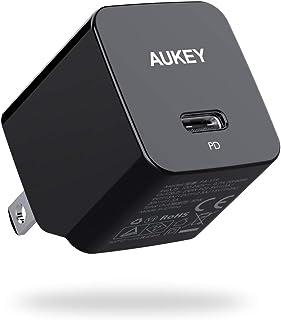 AUKEY 充電器 USB-C急速充電器 アダプタ 30W GaN (窒化ガリウム) 採用 折畳式/PD3.0対応 iPhone 12 / 12Pro / 12Pro Max/MiNi / iPhone 11 / 11Pro / 11Pro M...
