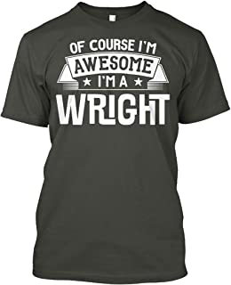 Wright First or Last Name Family Reunion Gift Tshirt - Hanes Tagless Tee