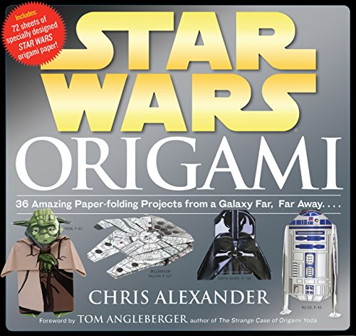 Compare Textbook Prices for Star Wars Origami: 36 Amazing Paper-folding Projects from a Galaxy Far, Far Away Illustrated Edition ISBN 8601404240577 by Alexander, Chris,Angleberger, Tom