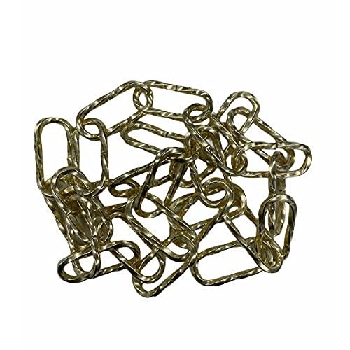 Cadena para lámpara de araña, 1 metro, 3,8 mm de diámetro, estilo vintage retro, cadena de araña decorativa de repuesto