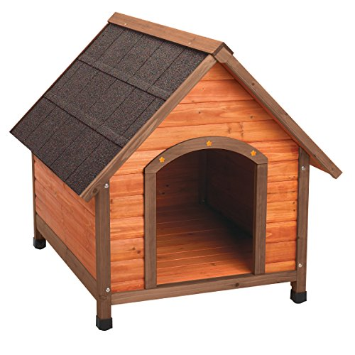 Ware Manufacturing Premium Plus A-Frame Fir Wood Dog House - Large