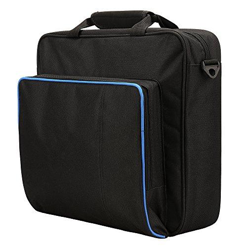 Miunana Tragetasche Konsolentasche Carrying Case Hülle Spiel Spielkonsole Tasche Zubehör Konsolen für PS4