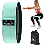 Resistance Bands for Legs and Butt, Exercise Bands Set Booty Bands Hip Bands Wide Workout Bands...