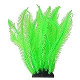 Acuario Coral Artificial Tanque de Peces Vivos Plástico Coral Simulación de Plantas Ornamento de Coral Decoración de Paisaje Submarino(Verde)