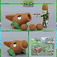 ホットセールプラントvsゾンビアクションフィギュアおもちゃPVZ親子インタラクティブおもちゃPvcモデルエンドウ豆シューターヒマワリ植物おもちゃPVZクリスマスギフトおもちゃ