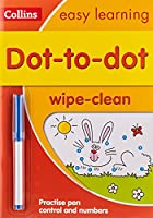 Dot-to-Dot Age 3-5 Wipe Clean Activity Book: Ideal for Home Learning (Collins Easy Learning Preschool)