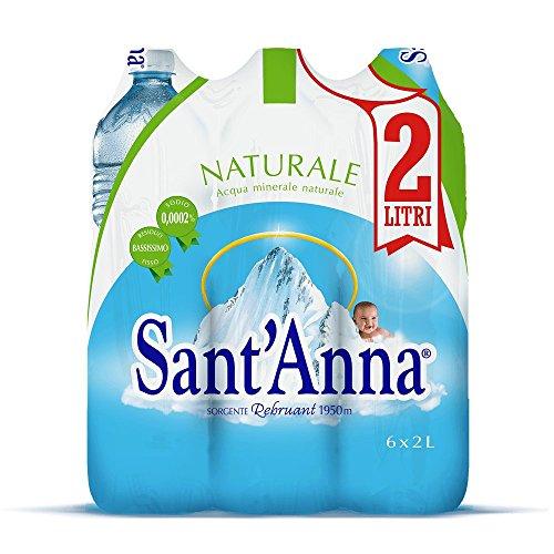 Sant'Anna Acqua Naturale 2.0L (Confezione da 6)