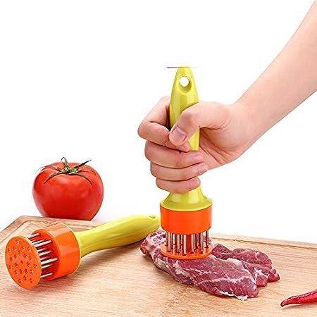 iLifeTech 肉筋切り器 (オレンジ)