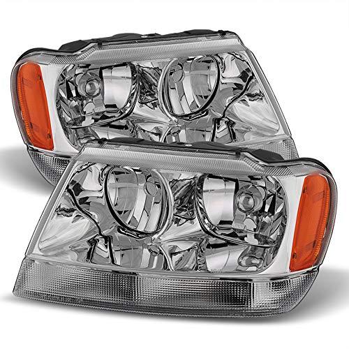 01 jeep grand cherokee headlights - 4