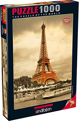 Anatolian/perre Group - Ana.3193 - Puzzle Classique - Eiffel Tower - 1000 Pièces