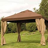 Dach Bezug mocca zu Toronto Pavillon 100% Polyester