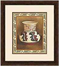 BLACK FOREST DECOR Southwest Pottery III Framed Print