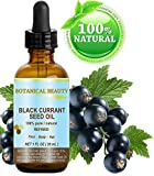 Black Currant Seed Oil. 100% Pure / Natural / Undiluted / Refined Cold Pressed Carrier Oil. 1 Fl.oz. - 30ml. For Skin, Hair, Lip And Nail Care. 'One Of The Richest In Gamma-Linolenic Acid, Omega 3, 6 And 9 Essential Fatty Acids'. by Botanical Beauty.