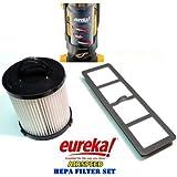Eureka AirSpeed Bagless Upright HEPA Filter Replacement Set. (Original Version)