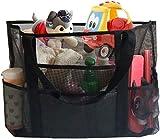 EXTSUD Extra Große Reisetasche Strandtasche Sand Spielzeug Aufbewahrungstasche Faltbare Handtaschen...