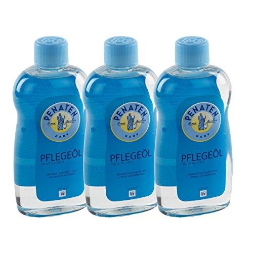 3x Penaten Baby Sanft Öl 500 ml - Bei Neugeborenen bewährt