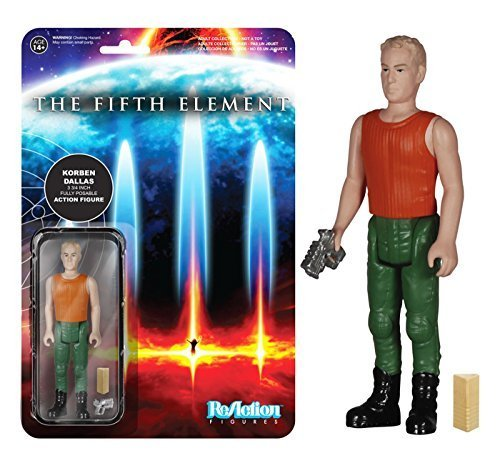 Fifth Element Korben Dallas ReAction 3 3/4-Inch Retro Action Figure by Fifth Element