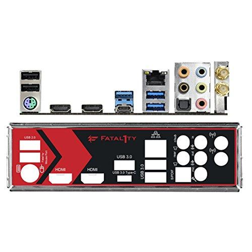ASRock AB350 GAMING-ITX/AC Mainboard schwarz