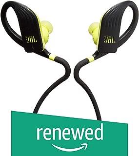 JBL Endurance Jump, Wireless in-Ear Sport Headphone with One-Button Mic/Remote - Yellow/Black (Renewed)