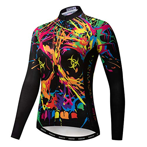 Cycling Jersey Women Bicycle Team Long Sleeve Racing Bike T-Shirt Warm Clothing Sport Tops