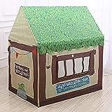 GAO-bo Juguetes Tiendas de campaña, for niños de dibujos animados portátil plegable casitas príncipe o una princesa del castillo de juguetes Tiendas de campaña Childs habitación Playsets for uso en in