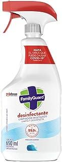 Family Guard Desinfectante Limpiador Multisuperficies Aparato 650 Ml Fragancia Frescura Marina
