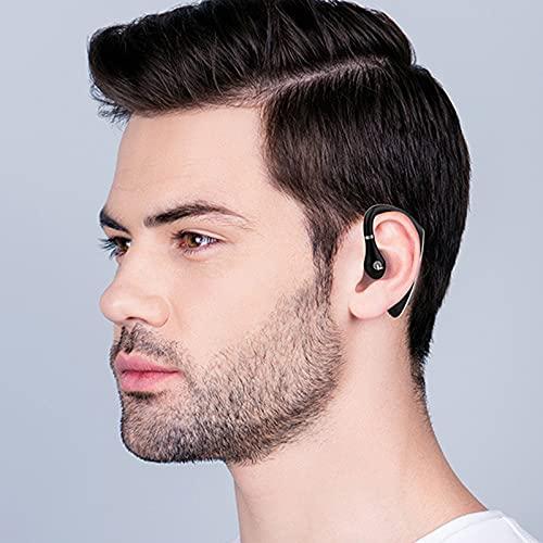 ZS ZHISHANG Solo auricular inalámbrico Bluetooth auricular manos libres negocios auriculares Bluetooth para al aire libre