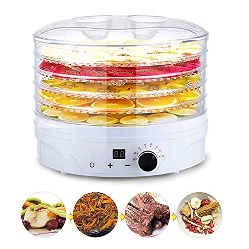 Amazing Deal SMLZV Food Dehydrator,Electric Digital Food Dehydrator Machine - for Jerky,Fruit,Vegeta...