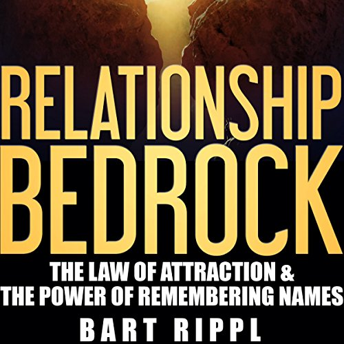 Relationship Bedrock audiobook cover art