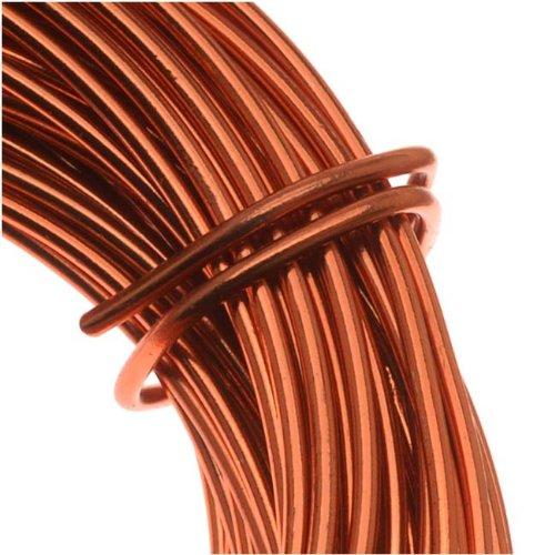 Copper German Bead Wire Craft Wire 18 Gauge/1mm (4 Meters / 13.1 Feet)
