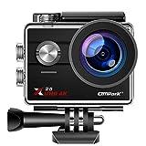 Campark X25 Native 4K Action Camera Ultra HD WiFi Underwater Waterproof Camera 170°