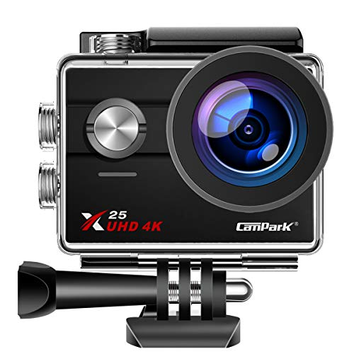Campark X25 Native 4K Action Camera Ultra HD WiFi Underwater Waterproof Camera...