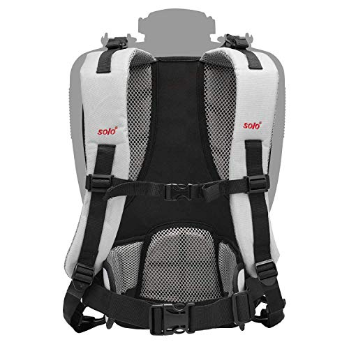 Solo Pro 49599 Back Support System for Backpack System, Grey, 51 x 31 x 8 cm