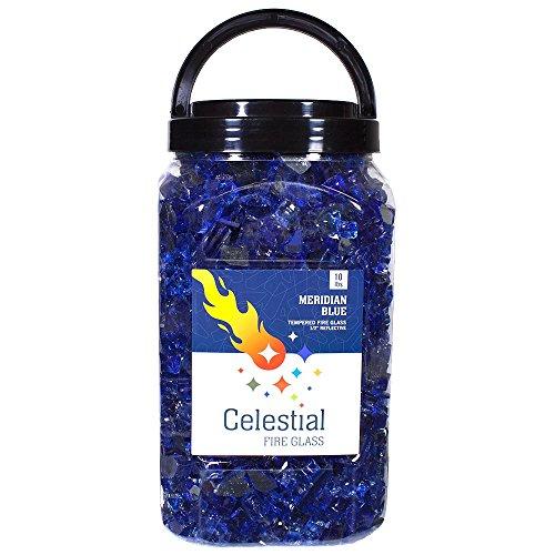 Celestial Fire Glass High Luster   , 1/2