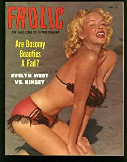 Frolic Magazine June 1954 (Vintage Swimsuit Pin-Up Girlie Cheesecake Photos) Anita Ekberg Photo Feature