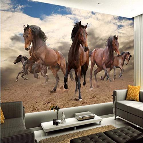 Wuyyii あらゆるサイズのステレオの先駆者のペプシの馬フレームTv 3Dの壁画 - 120X100Cmの大きい注文の壁画の壁紙