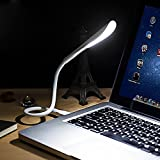 Zreal Flexible USB táctil LED Mini USB portátil Led Lámpara para el Ordenador portátil Notebook PC Ordenador luz Ultra Brillante 14 LED