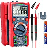 AstroAI Digital Multimeter, TRMS 6000 Counts Auto-Ranging Voltage Tester Voltmeter Measuring AC/DC Voltage Current, Capacitance Resistance Frequency Temperature Continuity Diodes with NCV