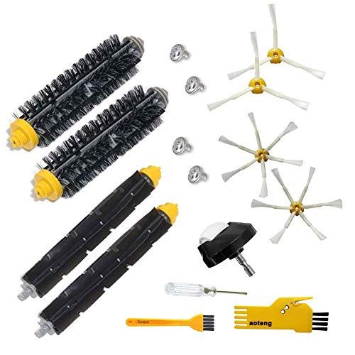 Accessoires pour irobot Roomba 500 600 Série 700 Kit de remplacement 529 650 660 760 770 780 790, Filtres et brosses