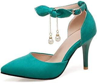 BalaMasa Womens ASL06603 Pu Heeled Sandals